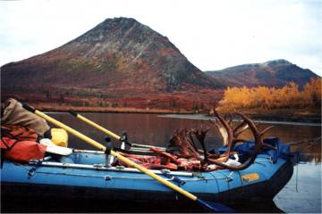Photo of Float Hunting and Raft in the Alaska Wilderness