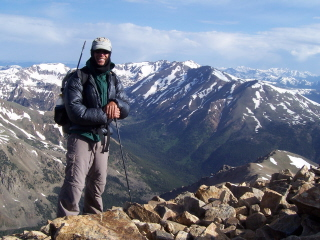Summit of Mt. Elbert