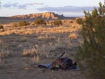 Desert Camp near Ojo Frio