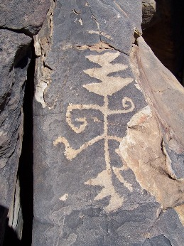 Petroglyphs North of Deming