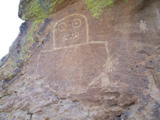 Petroglyphs in New Mexico