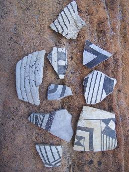 Ancient Pottery Shards